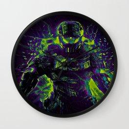 Future Halo Wall Clock