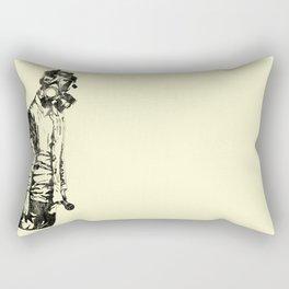 Pass The Mic Rectangular Pillow