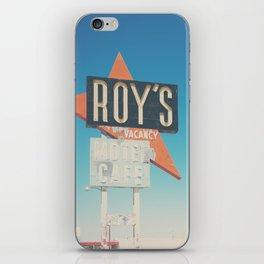 Roys Motel & Cafe ... iPhone Skin