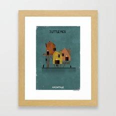 01_3 Little Pigs_ARCHITALE Framed Art Print