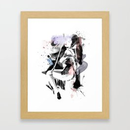 Shibari - Japanese BDSM Art Painting #12 Framed Art Print