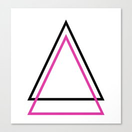 THE TRIBE △ Canvas Print