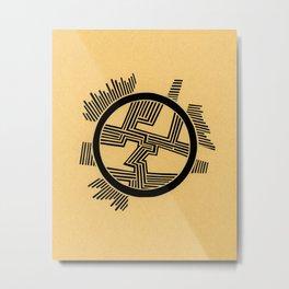 Dendrite Metal Print