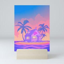 80s Kame House Mini Art Print