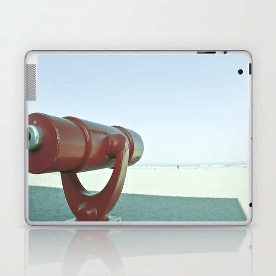 BEACHY SPYGLASS Laptop & iPad Skin