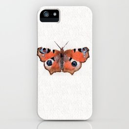 Peacock Butterfly iPhone Case