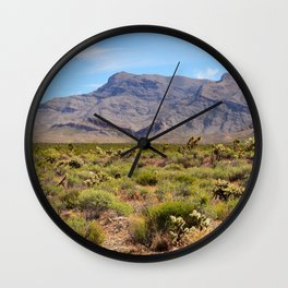 Painted Desert - I Wall Clock