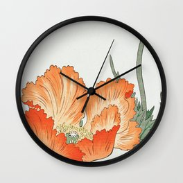 Ohara Koson - Birds and plants Wall Clock