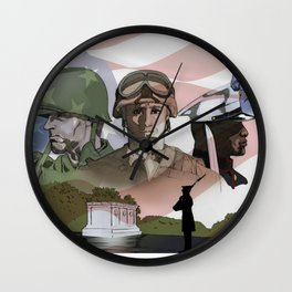 Evolution of the American Soldier Wall Clock