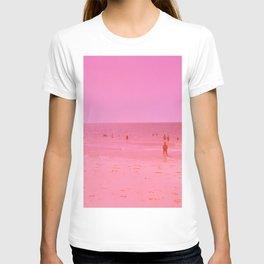 Summer in pink T-shirt