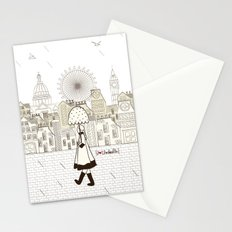 I {❤} Umbrella Stationery Cards