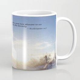 Light is Good Coffee Mug