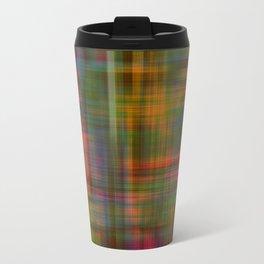 Multicolored Abstract Modern Pattern Travel Mug