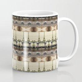 Paris Stripe Photographic Pattern Coffee Mug