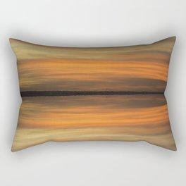 Reds and Golds Rectangular Pillow