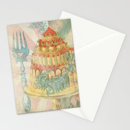 Let Them Eat Cake Stationery Cards