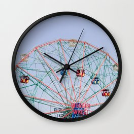 The Wonder Wheel Wall Clock