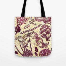 Eat Your Purple Veggies Tote Bag