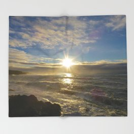 Storm Subsiding Throw Blanket