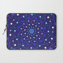 Blue Ray Star Mandala Laptop Sleeve