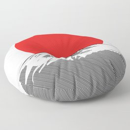 Rising Sun Floor Pillow