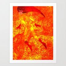 Child (Fire) Star Art Print