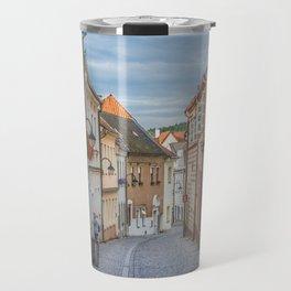 European Alley Travel Mug
