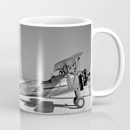 Paresev 1-A on Lakebed with Tow Plane Coffee Mug
