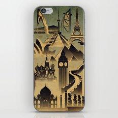 Around the world iPhone & iPod Skin