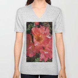 Peachy Rose Unisex V-Neck