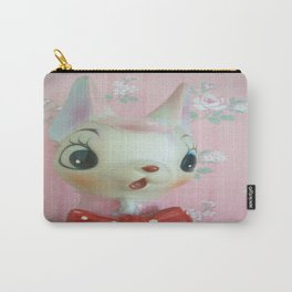 Pink bow tie deer Carry-All Pouch