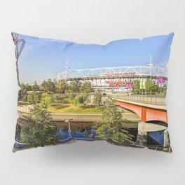 West Ham Olympic Stadium And The Arcelormittal Orbit  Pillow Sham