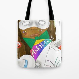 Mardi Gras 2 Tote Bag
