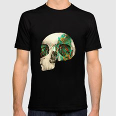 skull2 Black MEDIUM Mens Fitted Tee