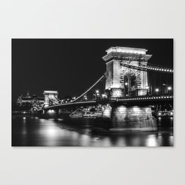 The charm of Budapest Canvas Print