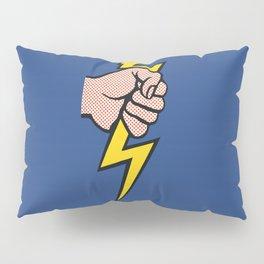 A vectorised Roy Lichtenstein, lining bolt. Pillow Sham