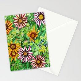 Gazanias Stationery Cards