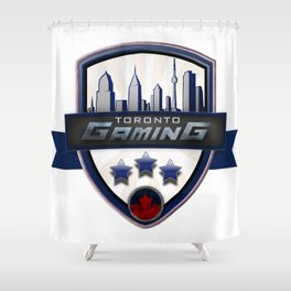 Toronto Gaming Shower Curtain