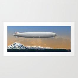 DW-033 Morning Flight Art Print