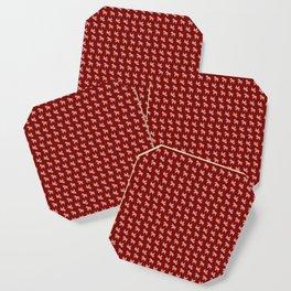 Scandi Horse Pattern Coaster