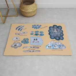 Clouds collection Rug