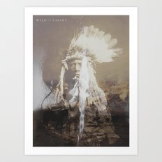 Native Life Art Print