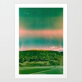 Oracle Skies Art Print