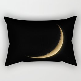 The Moon Sliver (Color) Rectangular Pillow