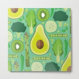 Eat your veggies Metal Print