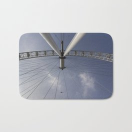 The London Eye And Apache Helicopter Bath Mat