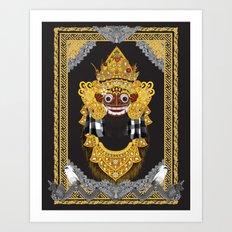Barong Art Print