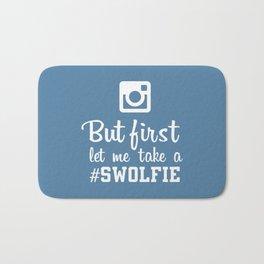 #swolfie Bath Mat