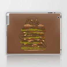Godzilla vs Hamburger Laptop & iPad Skin