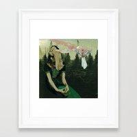 celestial Framed Art Prints featuring Celestial by Joellart